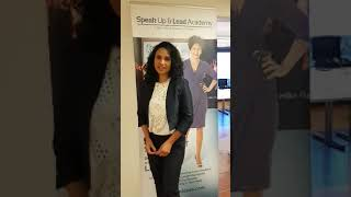 Speak Up Masterclass - Testimonial Zalina Walchli