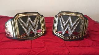 WWE Heavyweight Championship Replica vs Commemorative