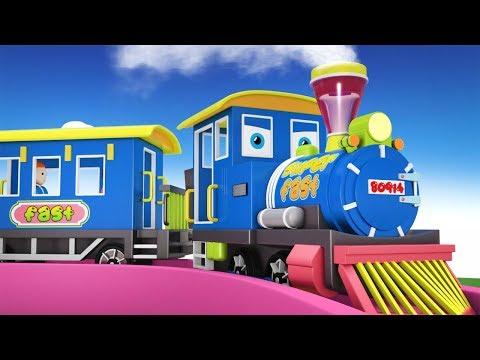 Thomas Train - Choo Choo Train - Cartoon Cartoon - Toy Factory Train - Cars for Kids