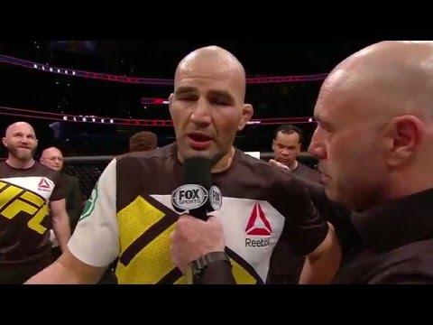 Fight Night Tampa: Glover Teixeira Octagon Interview