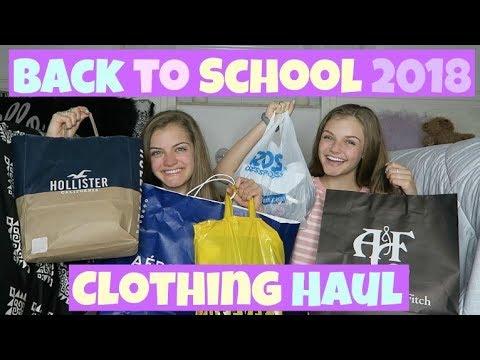 Back to School ~ Clothing Haul 2018 ~ Jacy and Kacy