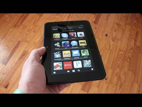 """Unboxing: NEW Kindle Fire HD 7"""""""