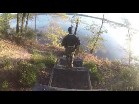 US Marines Officer Candidates School Endurance Course