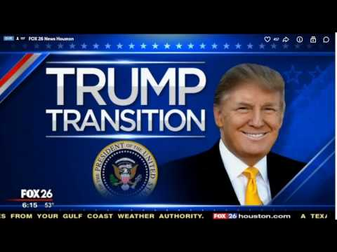 President Elect Trumps transition