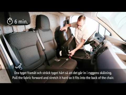 Toppen Pebe AB, Montering av bilklädsel på förarsäte - YouTube UK-99