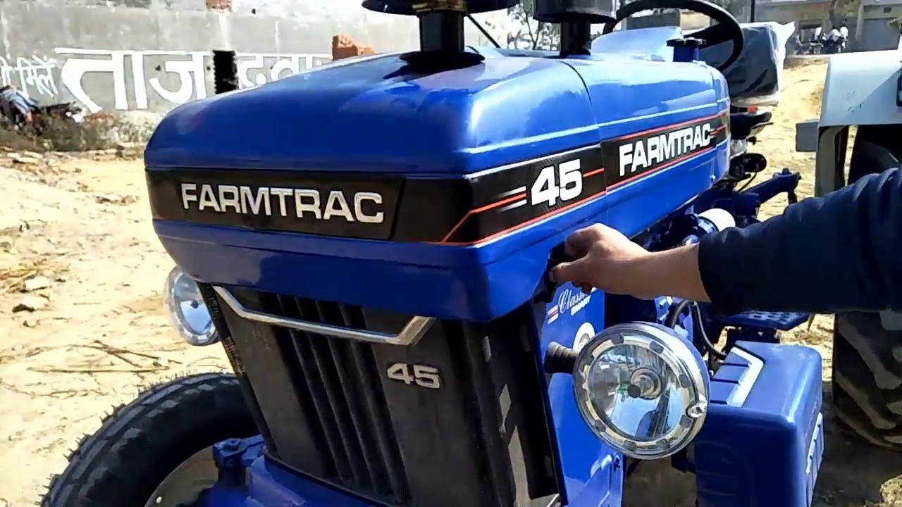 farmtrac 45 Tractor Review, Specifications, Details in Hindi 2018