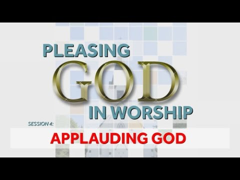 Applauding God & Hand Clapping in Church - Dr. Dave Miller