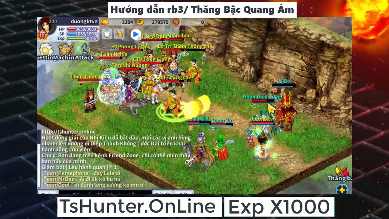 TS Online Mobile - Hướng dẫn làm rb3 , Thăng Cấp Quang Ám