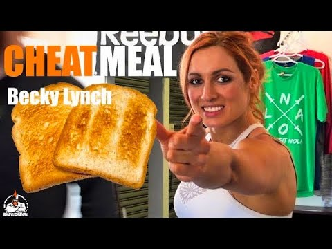 Becky Lynch Cheat Meal (REALLY?)