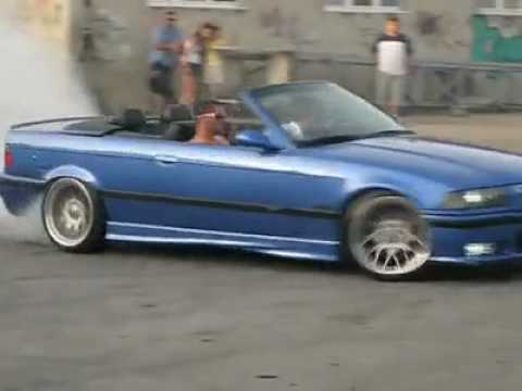 bmw m3 e36 cabrio burnout youtube. Black Bedroom Furniture Sets. Home Design Ideas
