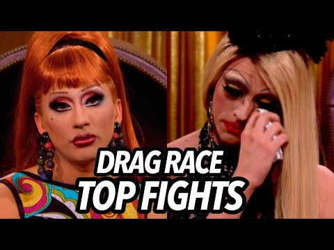 10 Greatest Beefs in Drag Race Herstory