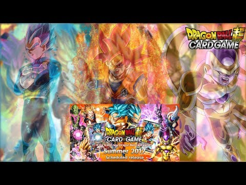 BRAND NEW DRAGON BALL SUPER CARD GAME PACK OPENING! | DRAGON BALL SUPER TRADING CARD GAME