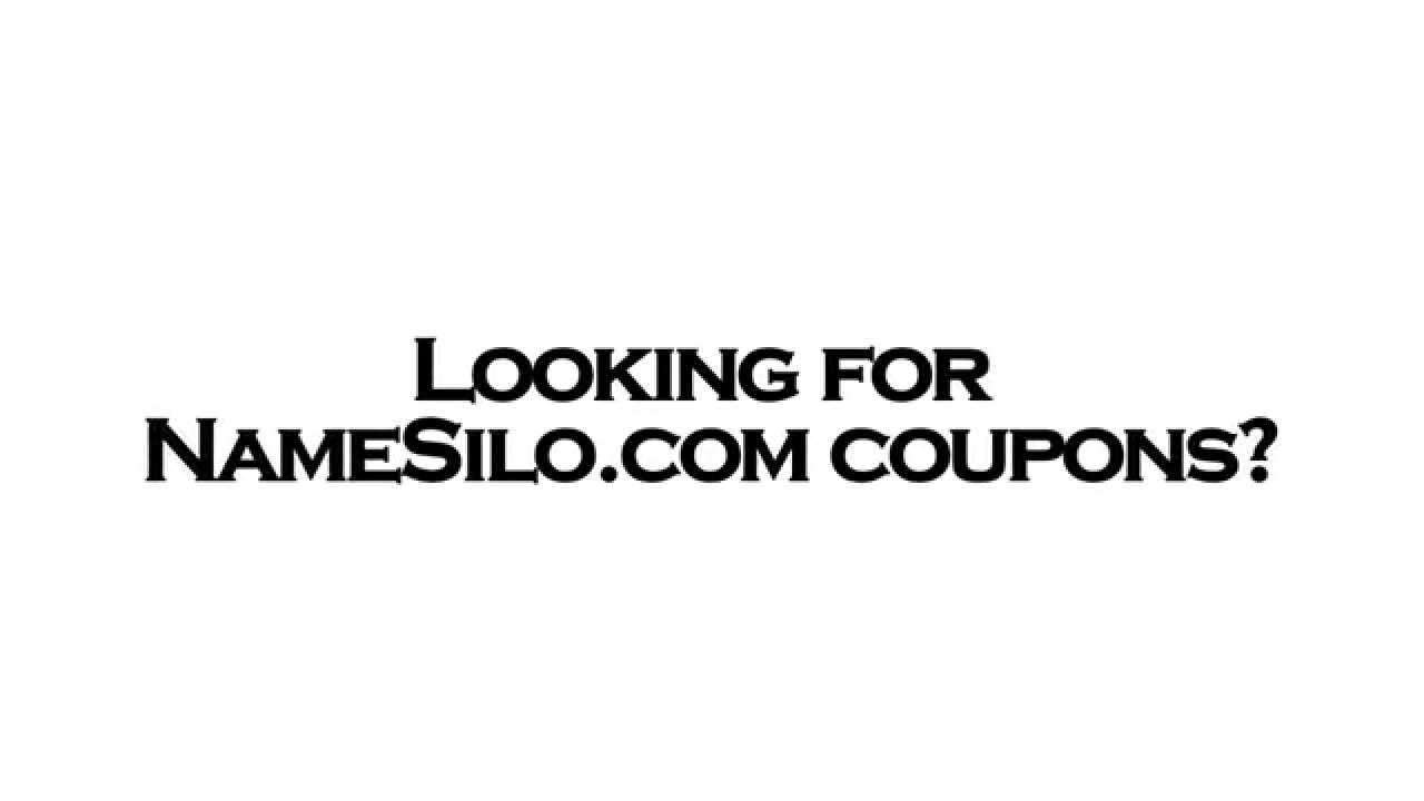 NameSilo Coupon - YouTube