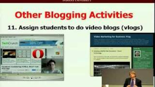 20.  Blog Uses and Applications