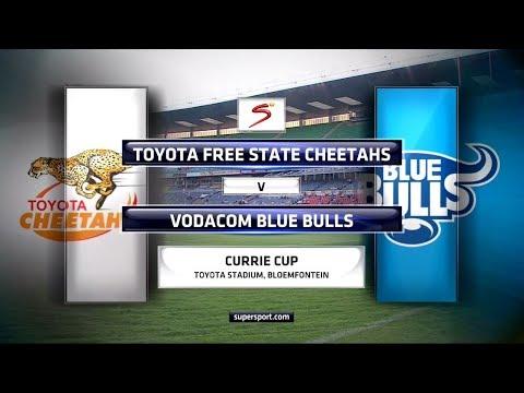 Currie Cup 2017 - Toyota Free State Cheetahs vs Vodacom Blue Bulls