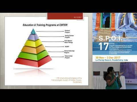 Music therapy in pulmonary rehabilitation   Dr   Sumathy Sundar   Center for Music Therapy Educ
