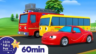 Download lagu Vehicle Sounds Song +More Nursery Rhymes and Kids Songs | Little Baby Bum
