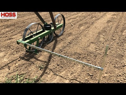 GET PERFECTLY SPACED ROWS WITH THIS SIMPLE TOOL!