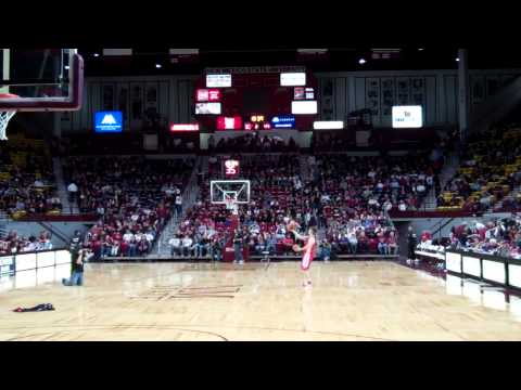 NMSU Aggies vs Nevada Wolfpack - Basketball (1/26/12)