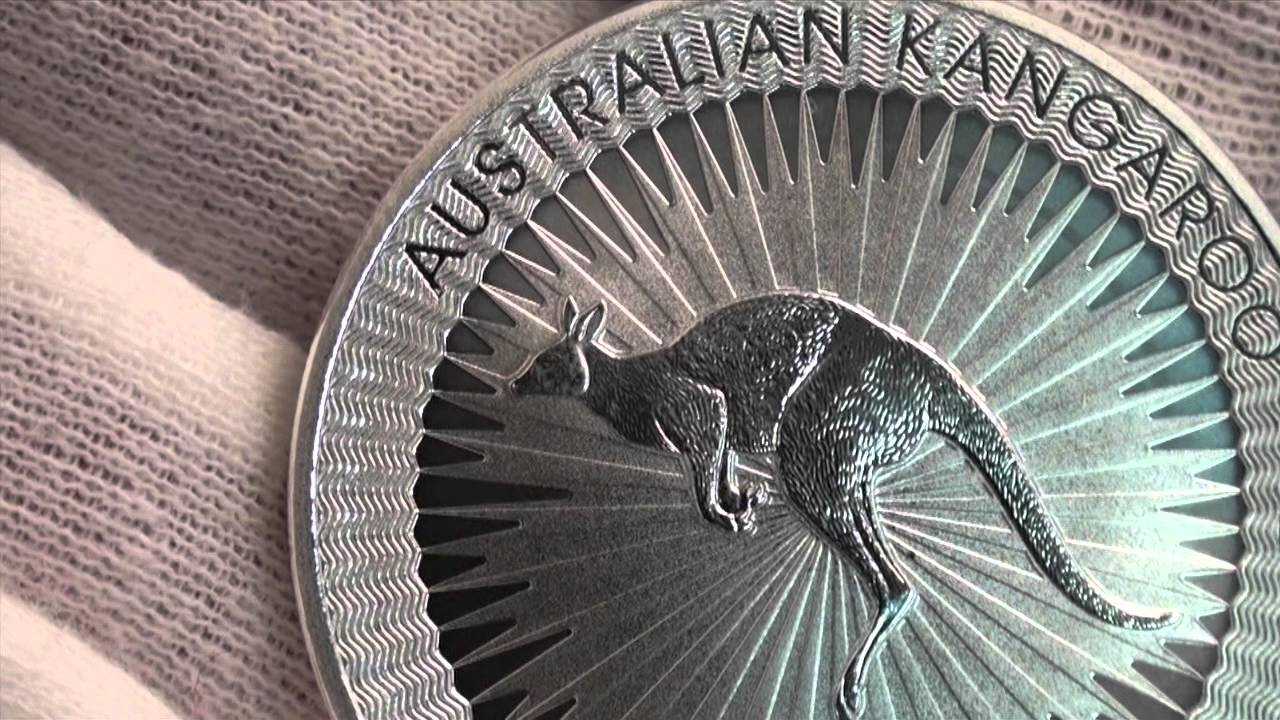 Close Up Look At The 2016 Australian Kangaroo Silver