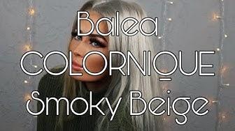 So habe ich meine gelben Haare aschblond bekommen 🖤 BALEA COLORNIQUE SMOKY BEIGE 🖤