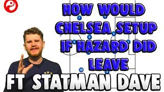 HOW WOULD CHELSEA SETUP IF HAZARD DID LEAVE! FT STATMAN DAVE