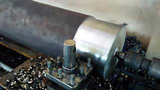 Heavy Duty Shaft OD Turning : Lathe Machine