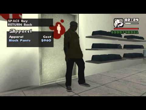 GTA San Andreas All Victim Clothes