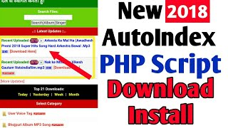 Php New Automatic Update Auto index script Download And Install 2018