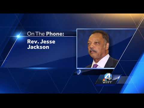 Rev. Jesse Jackson talks about having Parkinson