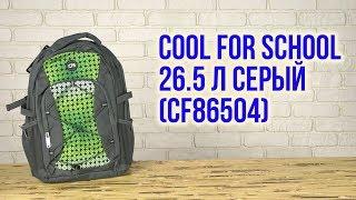 Розпакування Сool For School 46х36х16 см 26 5 л Сірий CF86504
