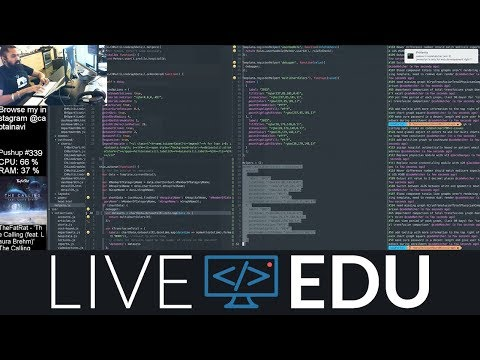 Watch and Learn: Developing Healthcare ♥️💉💊App for Doctors (LiveEdu.TV)