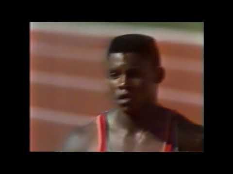 1984 Olympics, Men's 100m Semifinal 2, Los Angeles, USA