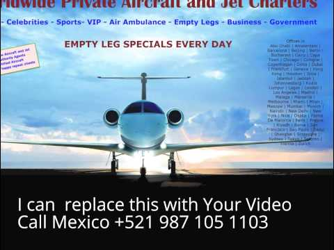 international private jet charter rates