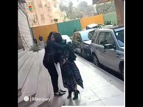 جومانا مراد تستقبل المعزين في وفاة ابنتها