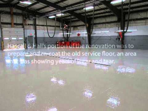 Lee Toyota Topsham >> Commerical Flooring at Lee Auto Mall Topsham - YouTube