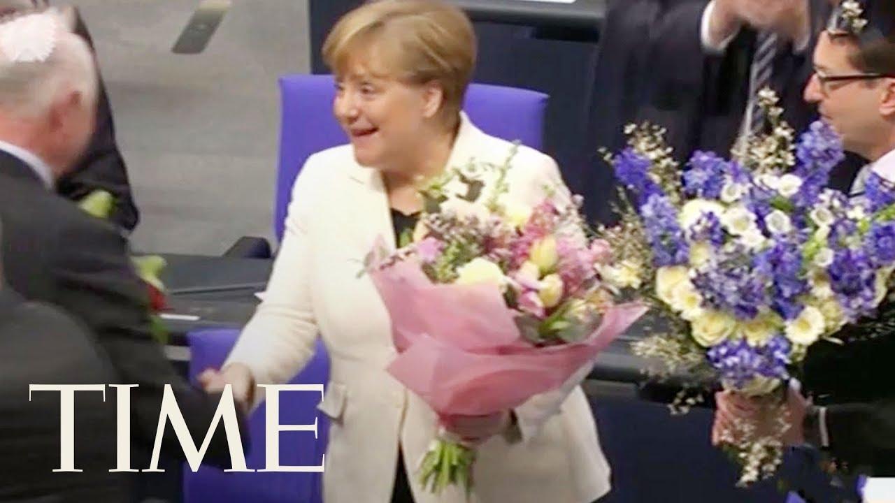 German Parliament Elects Angela Merkel For Fourth Term As Chancellor, Ends Political Deadlock