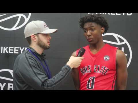 EYBL Session 1: Interview with RM5 (TX) sophomore Tyrese Maxey