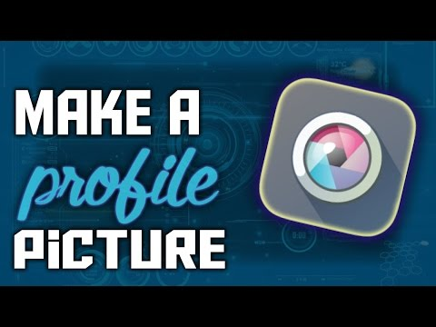 How To Make A Profile Picture For FREE WITHOUT Photoshop (Pixlr) (2016)