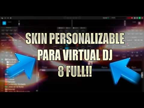 Skin Personalizable para Virtual Dj 8