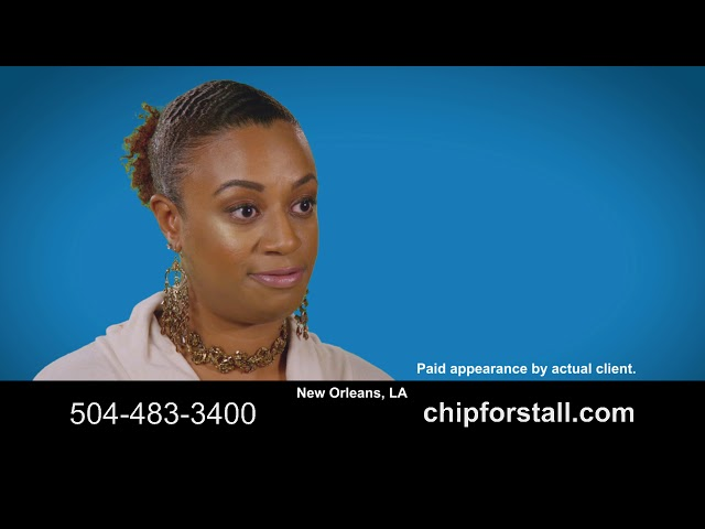 Client testimonial video for Personal injury attorney Chip Forstall