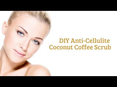 How to make a Coffee Scrub for Beauty? Learn to make this DIY Anti-Cellulite Coconut Coffee Scrub