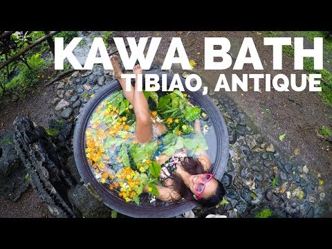 Kawa Bath in Tibiao, Antique, Philippines: COOKED ALIVE!