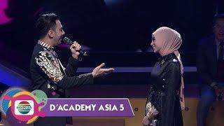 "BIKIN BAPERR!! Lagu Spesial Reza Untuk Uyaina ""Bukan Cinta Biasa"" - D'Academy Asia"