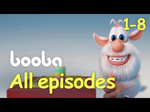 Booba - Animated shorts - 25 min (Episodes 1-8) @ KEDOO Animations 4 kids