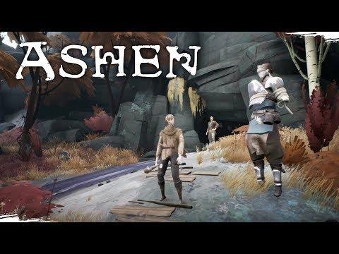 Inspirado em Zelda e Dark Souls | ASHEN - O Início de Gameplay, em Português PT-BR!
