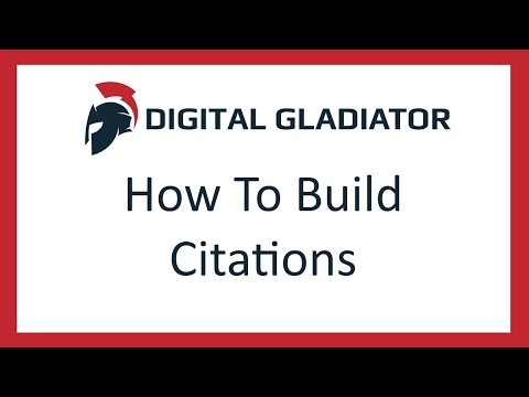 How To Build Citations For SEO - Simple Tutorial
