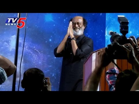 After 8 Years, Superstar Rajinikanth Photo Session With Fans | Fans Meet | TV5 News