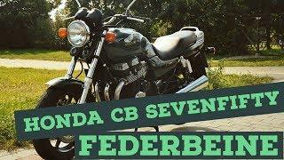 Honda CB Sevenfifty - Neue Federbeine