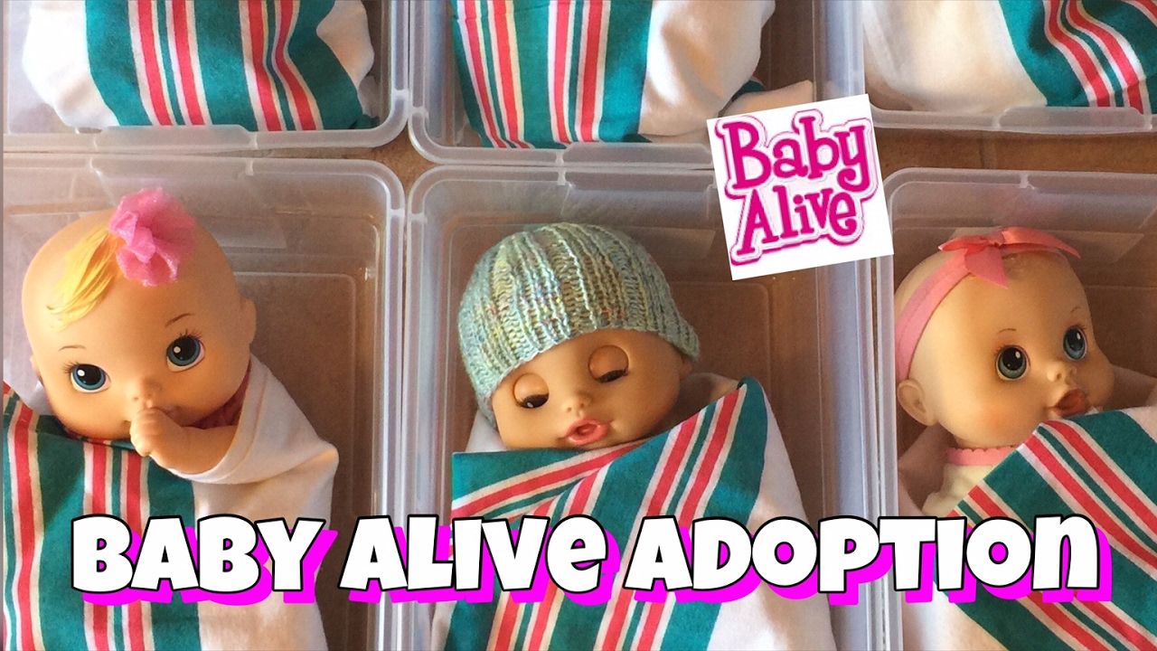 baby alive video going to the baby alive adoption center